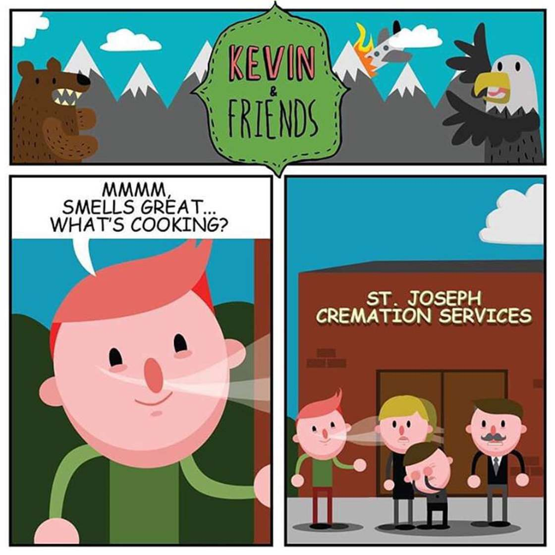 Kevin is optimistic - Hilarious illustrations filled with black humor