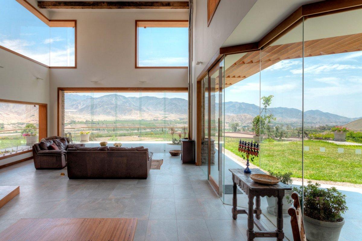 Комфортный дом в Перу с видом на долину