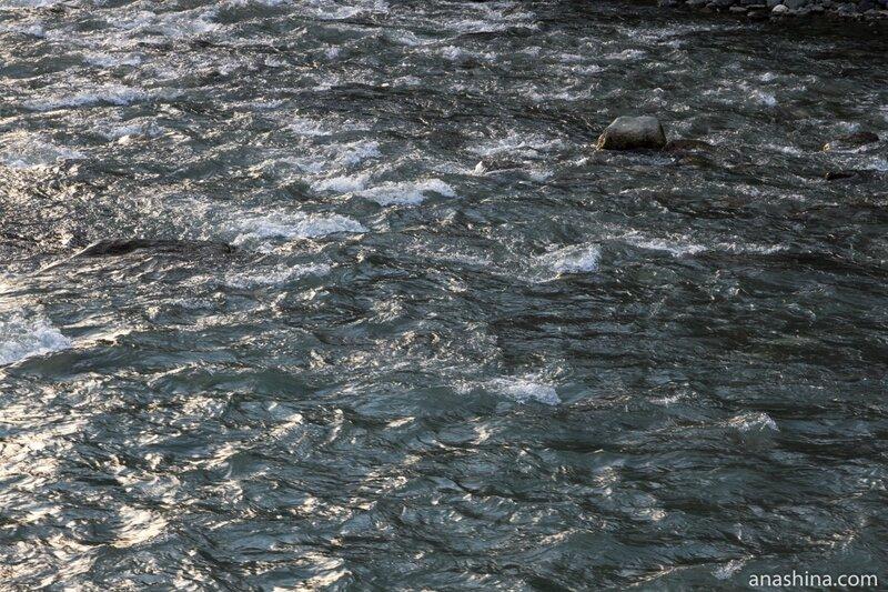Воды реки Мзымта, Роза Хутор, Роза Долина, Красная Поляна