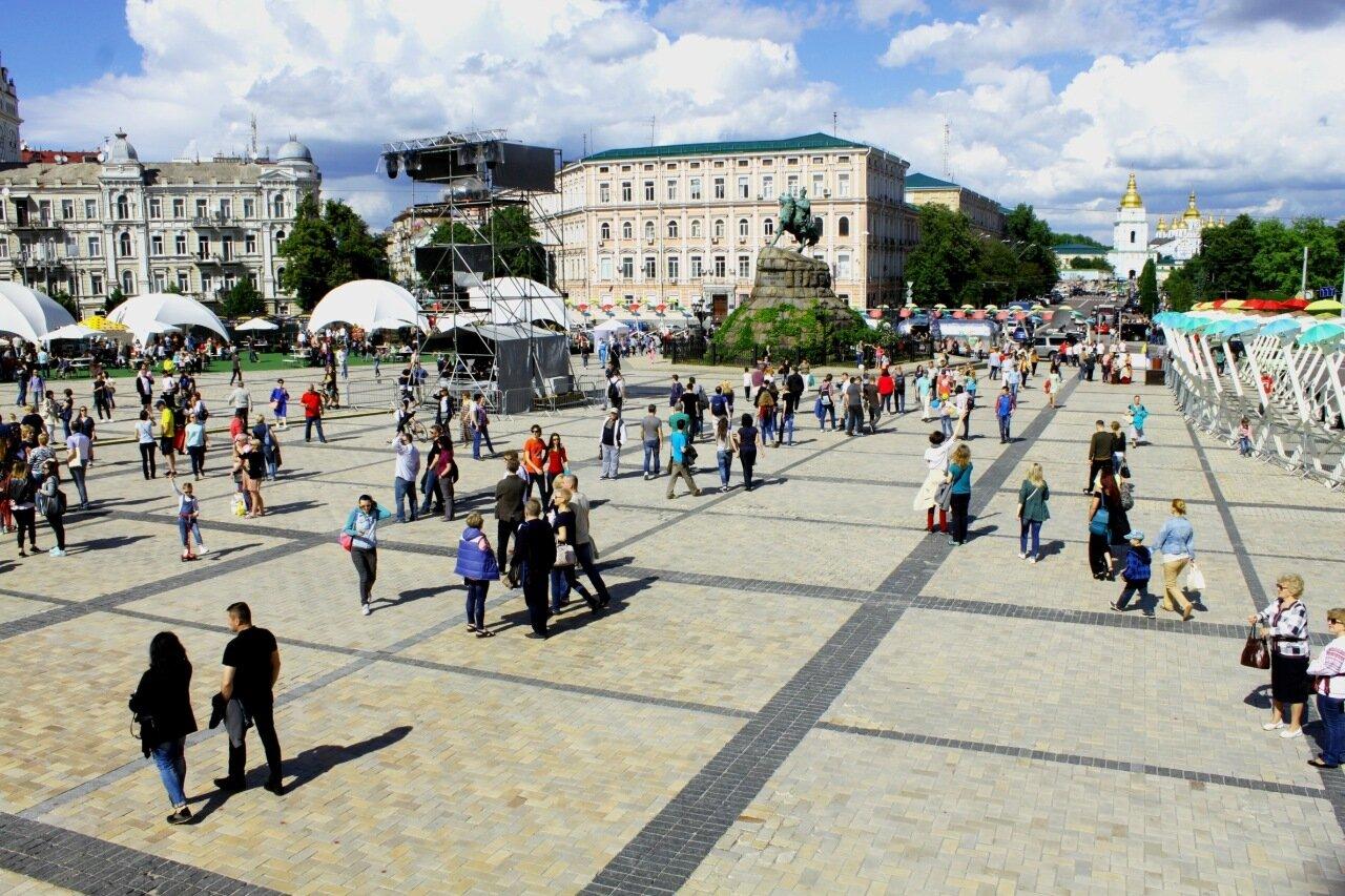 День Киева 2017 на Софиевской площади