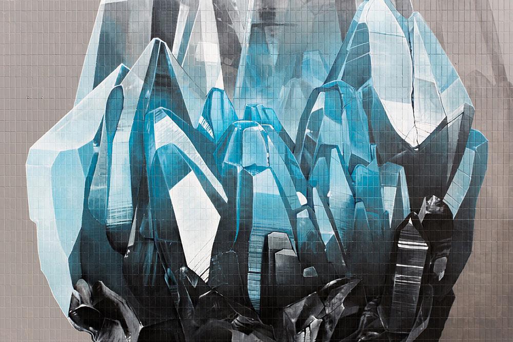 Os murais do coletivo NeverCrew