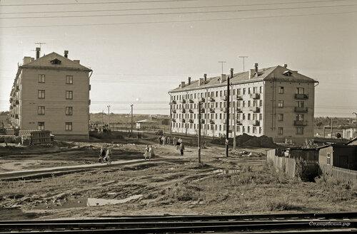 1961 год, у станции Суково