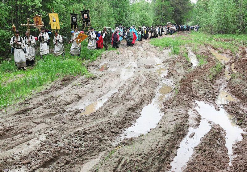 Великорецкий крестный ход в Кировской области