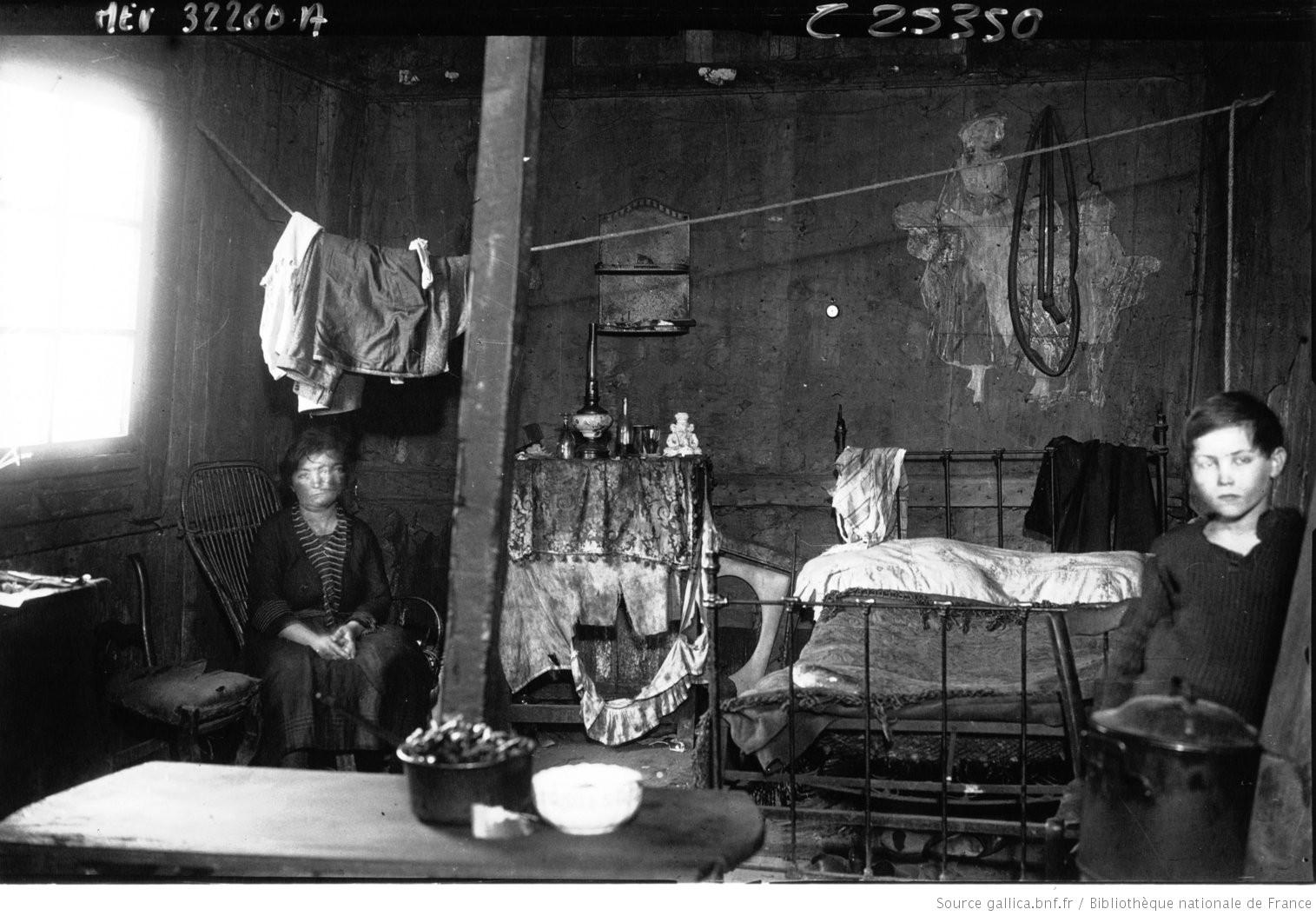 1929. Армия спасения в трущобах Бисетра