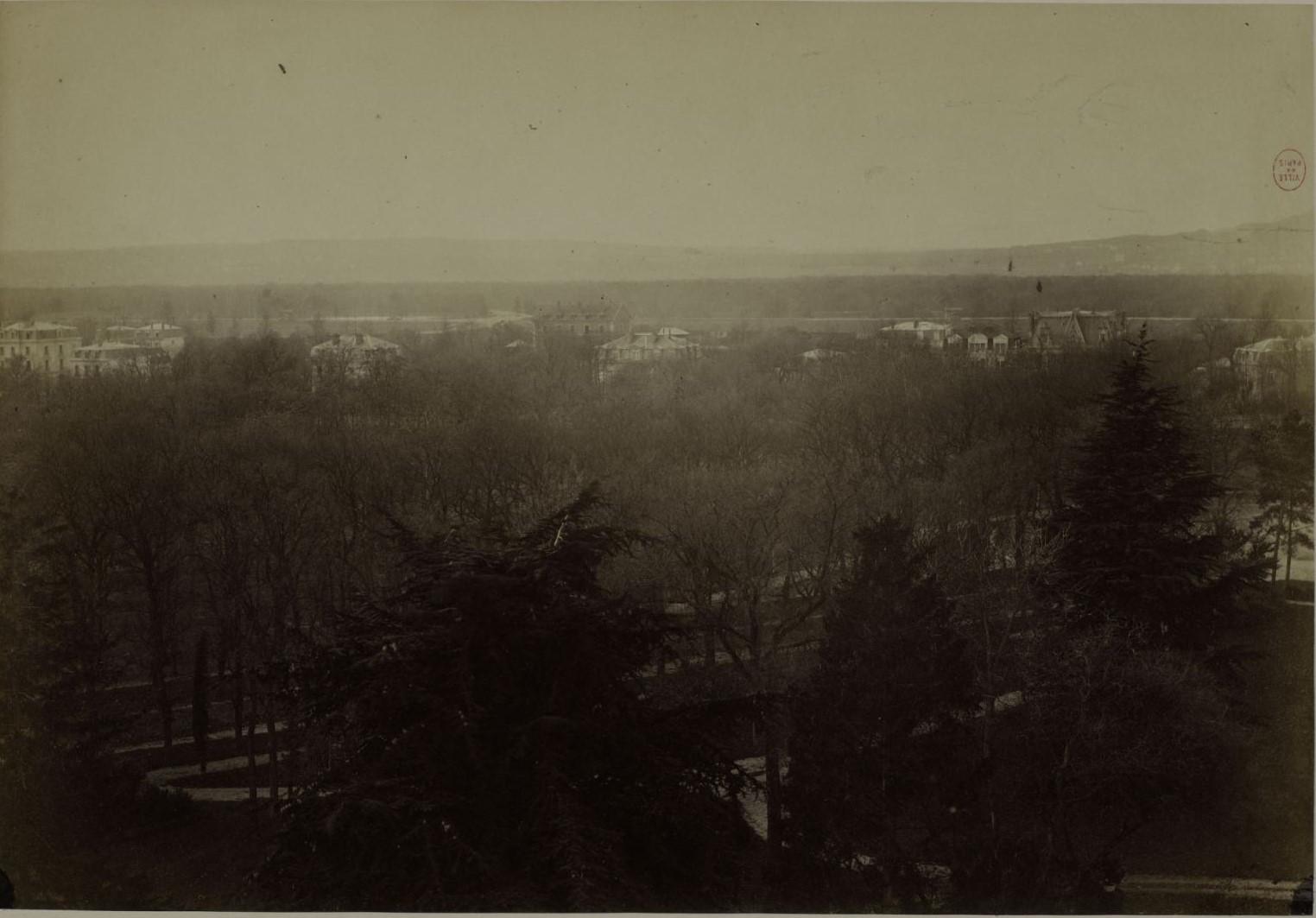 Снимки из Шато де ла Мюетт, XVI округ, 24 - 26 ноября. Городской пейзаж. Направление: Парк де Монтрету в Сен-Клу, Бузенваль, Марли
