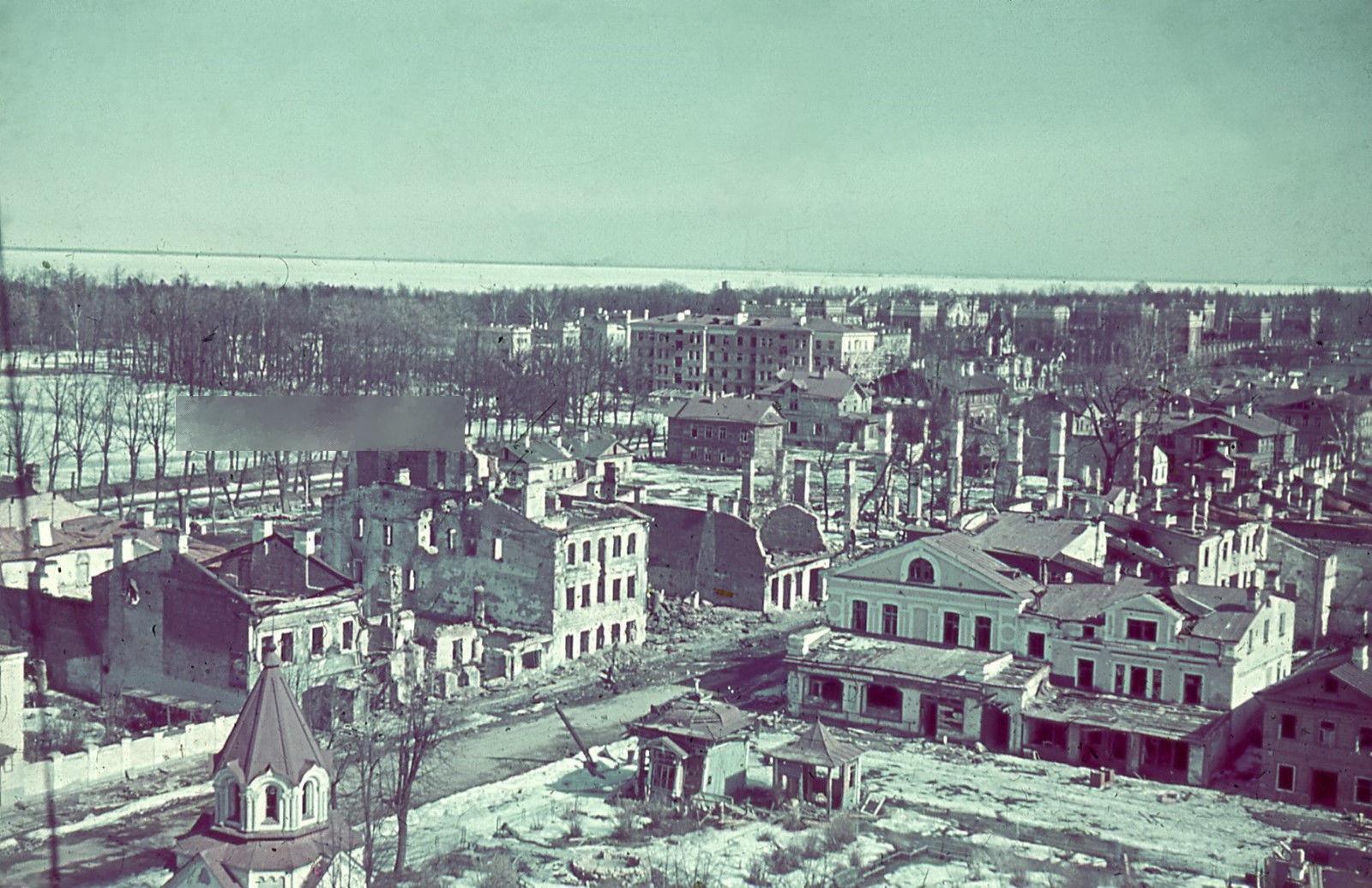 1941. Вид на город с Петропавловского собора
