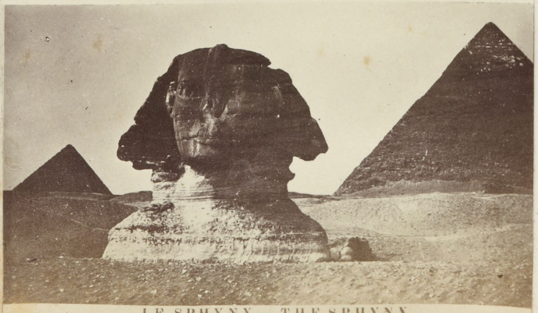 Гиза. Сфинкс и пирамиды. 1880-е