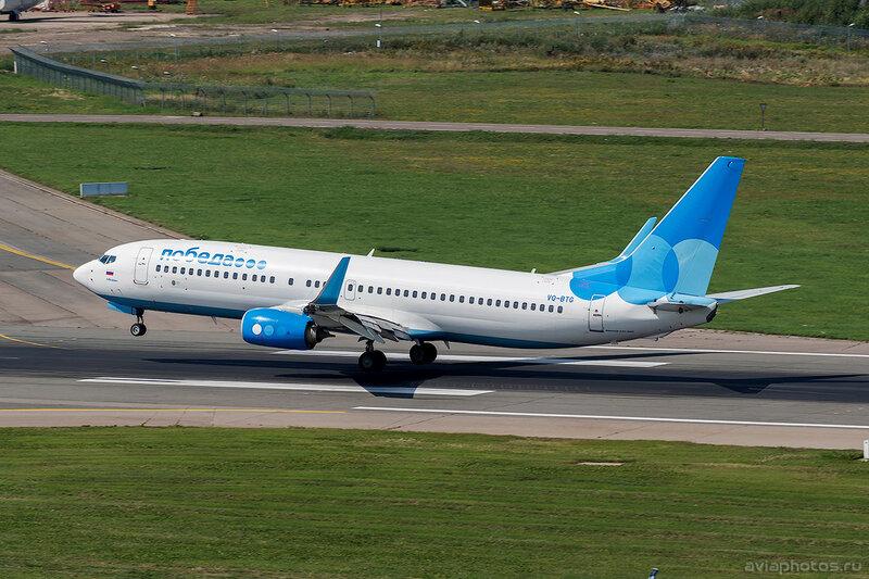 Boeing 737-8FZ (VQ-BTG) Победа D805221