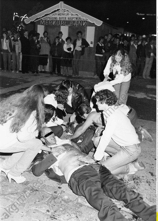 Oktoberfestattentat 1980, Erste Hilfe fue -  -