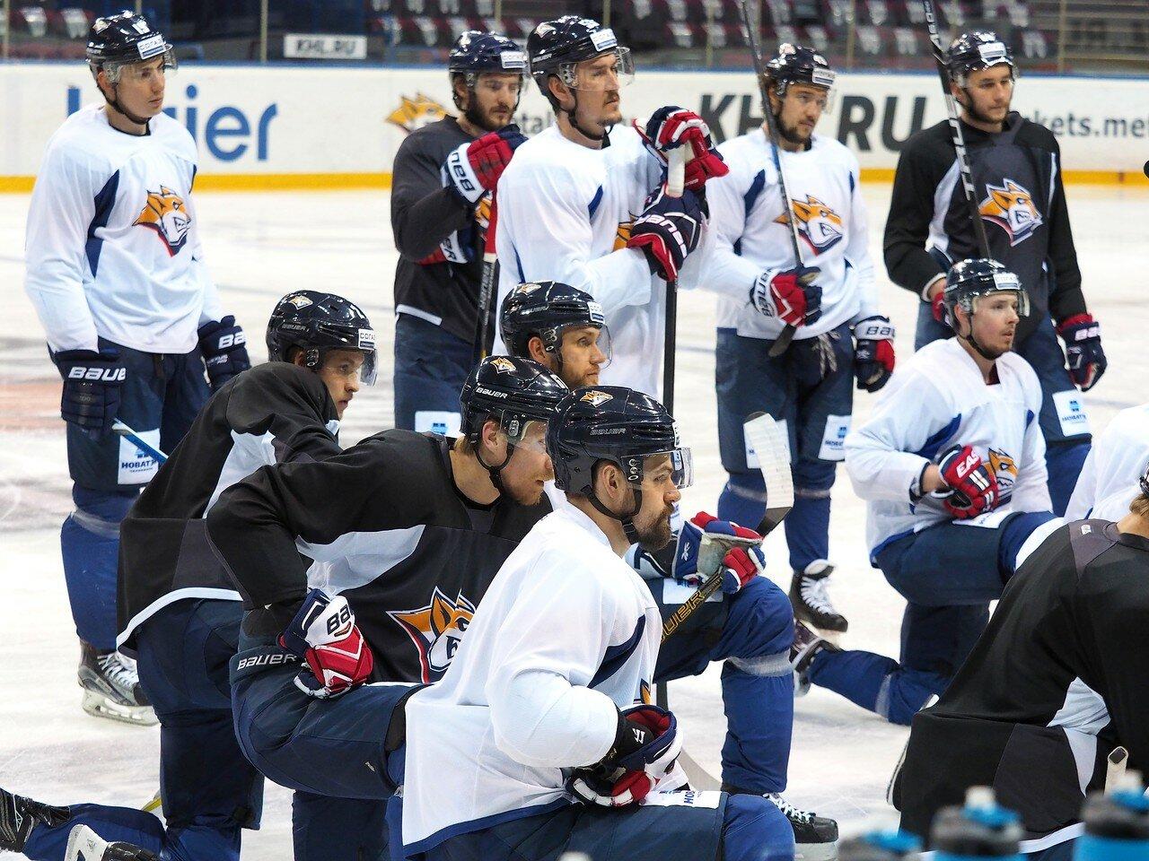 14 Открытая тренировка перед финалом плей-офф КХЛ 2017 06.04.2017