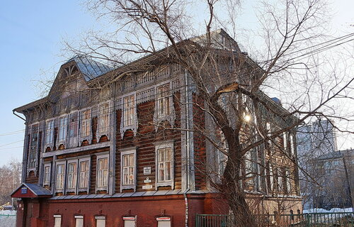 Дом Родюкова в Томске