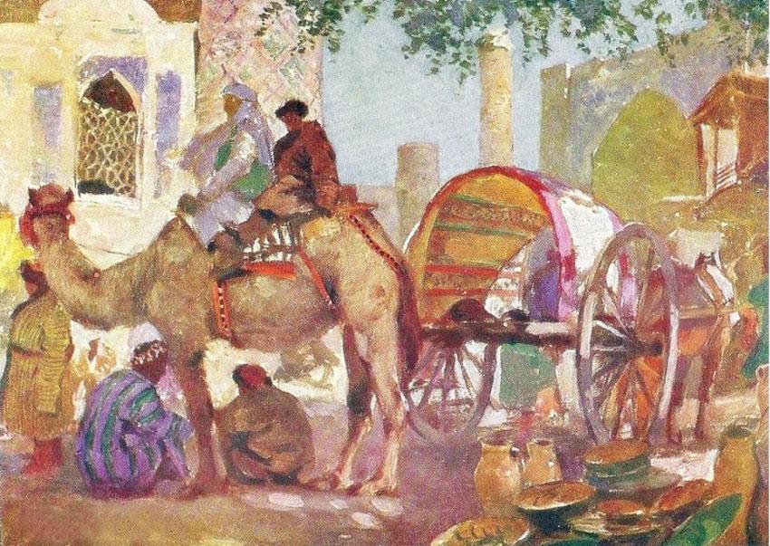 Самарканд. Горшечный базар 1921.jpg