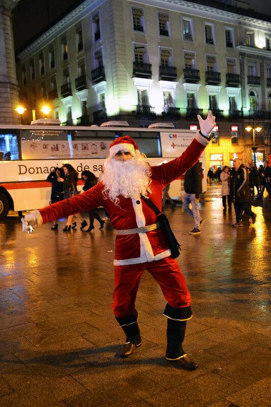 Магия новогоднего Мадрида