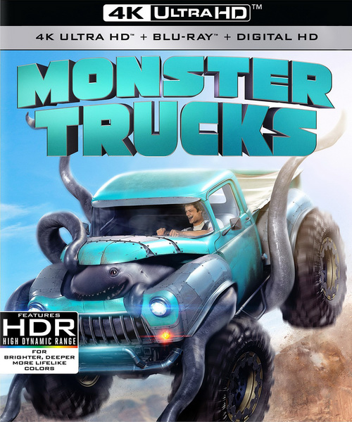Монстр-траки / Monster Trucks (2016/BDRip/HDRip)