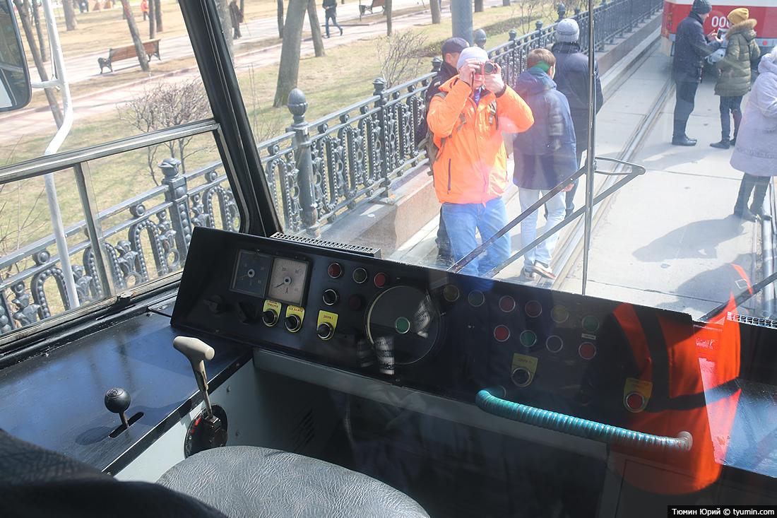 Журналист и путешественник Юрий Тюмин поделился с экологами репортажем о параде трамваев в Москве  - фото 18