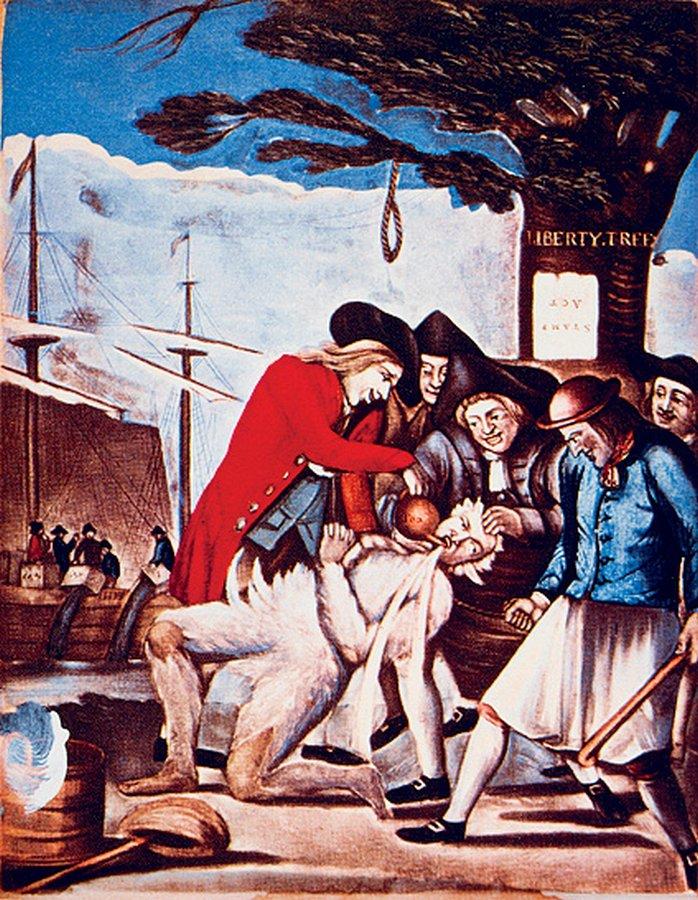В конце XVIII века Британская Ост-Индская компания, торговавшая индийским чаем, была на грани ра