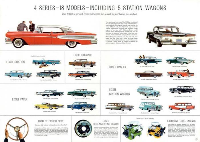 – Когда же машины появились у дилеров?– Меньше чем через год, уже в сентябре 1957-го.&nd