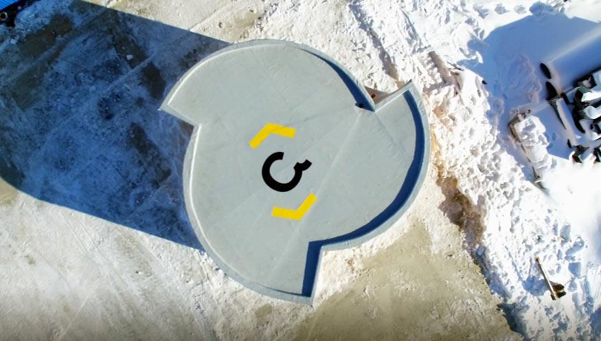 Считается, что Apis Cor — первая компания, разработавшая мобильный 3D-принтер, который может печатат