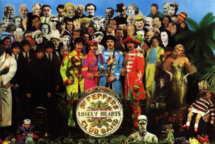 3. «Оркестр клуба одиноких сердец сержанта Пеппера» — восьмой студийный альбом The Beatles. Он вышел