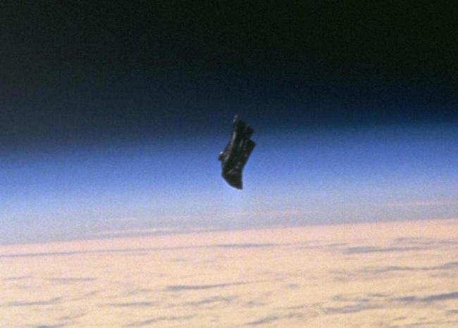 © NASA  Впервые искусственный спутник заснял этот неопознанный объект в1960году, испециалис
