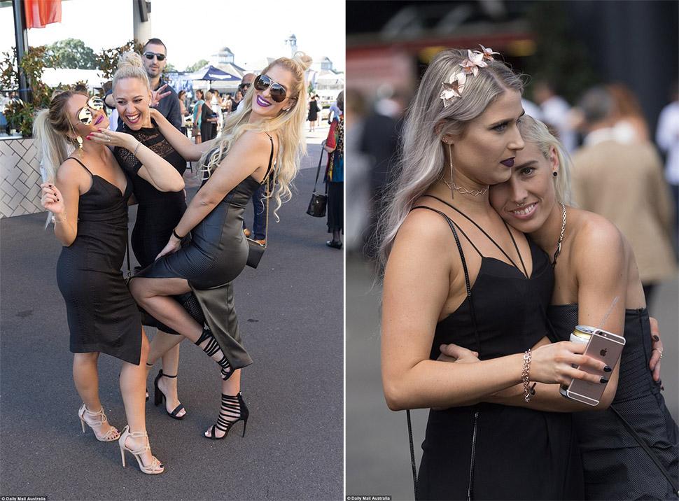Ох уж эти скачки! Сиднейские леди показали высший класс