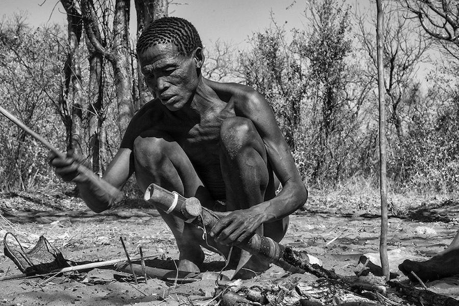 Бушмены Намибии на выразительных снимках Goran Jovic