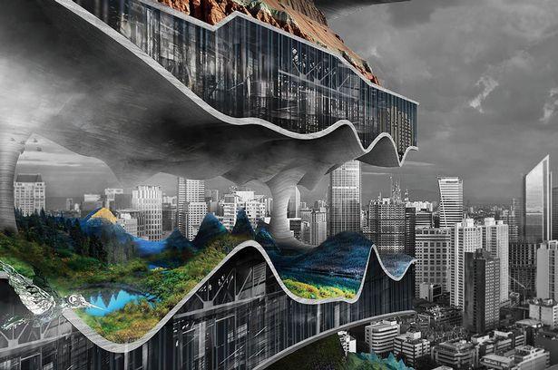 10 невероятных идей для зданий будущего: айсберг, Марс и дом-ферма (9 фото)