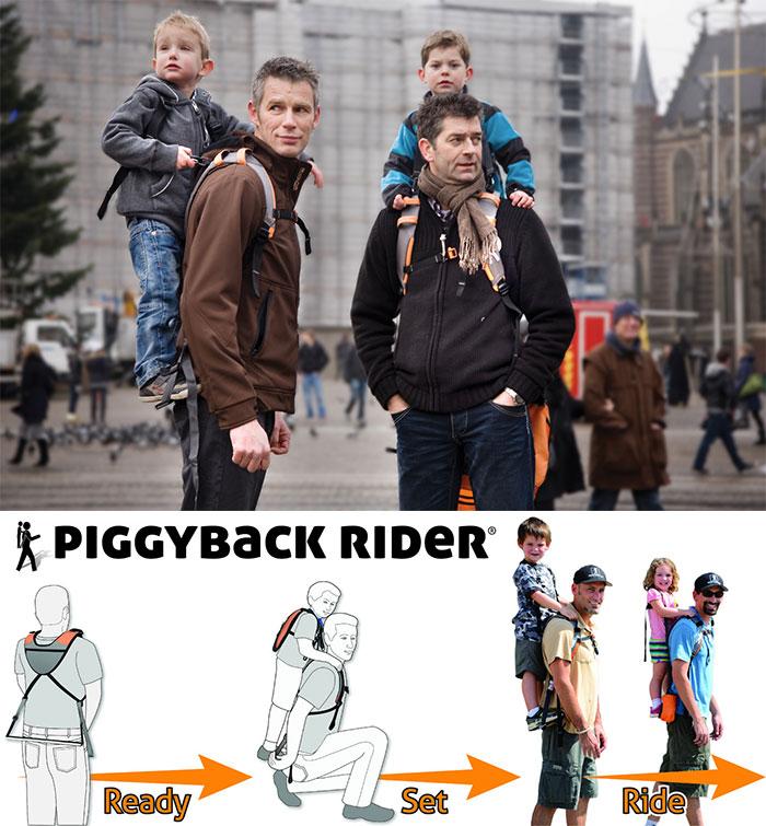 Переноска The Piggyback Rider.