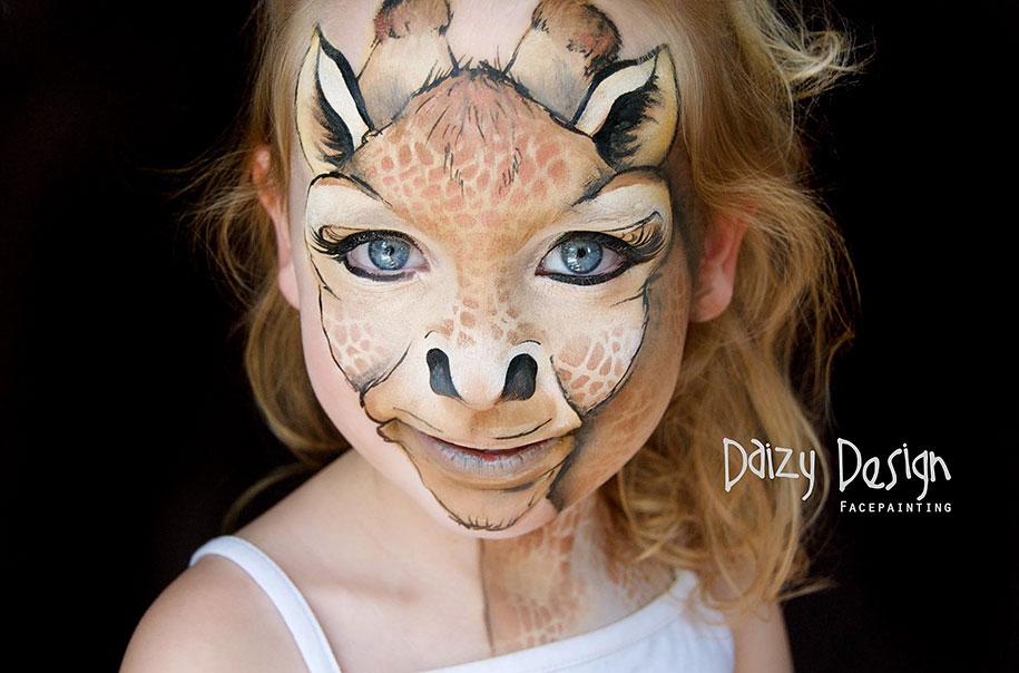 Детский face-painting от Кристи Льюис (22 фото)