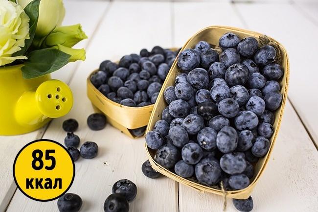 © jyliagorbacheva  Голубика— один изнаиболее богатых антиоксидантами продуктов . Поэтому чаш