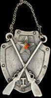 1920 гг. Жетон за отличную стрельбу.