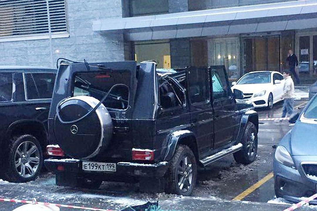 Мужчина выпал с83 этажа гостиницы Москва-Сити