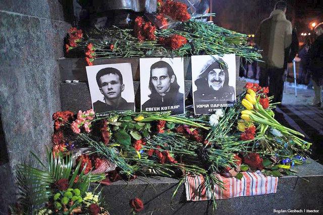 ВНовомосковской библиотеке прошел час памяти Небесной Сотни