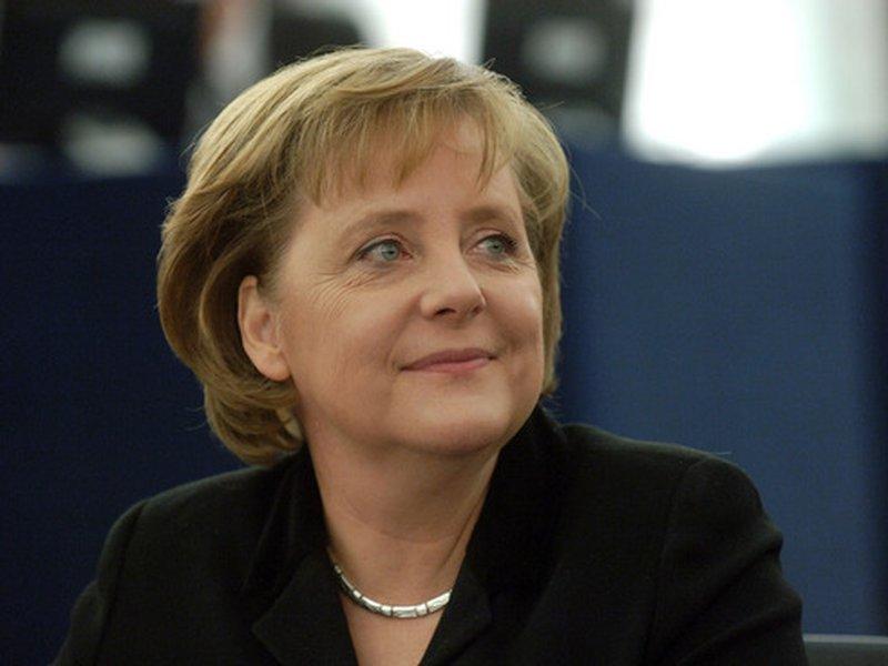 Впроцессе визита вКоролевство Меркель непромолчала оправах человека