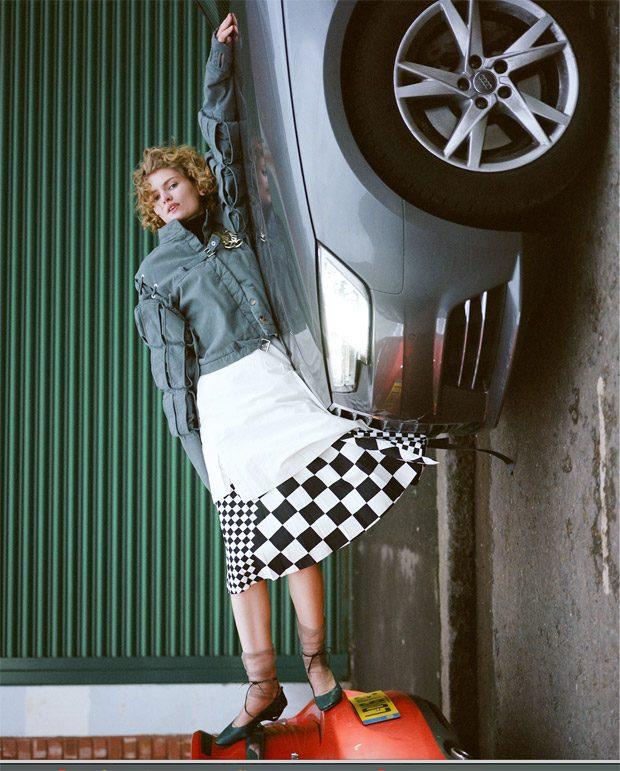 Lotte Van Noort Stars in ODDA Magazine Spring Summer 2017 Issue