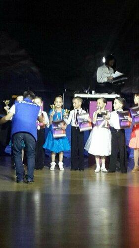 Юные чкаловцы- участники Всероссийского турнира по бальным танцам