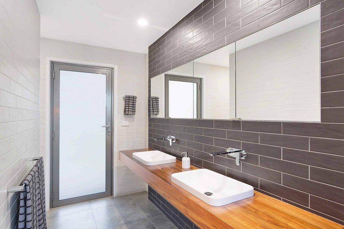 оформление ванной комнаты в доме