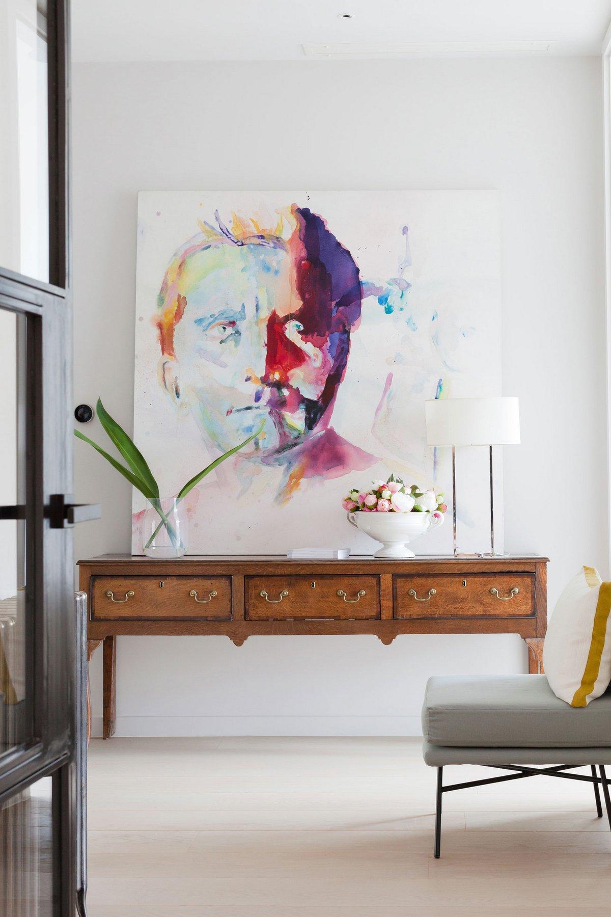 Картина в интерьере квартиры