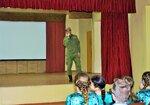 Пасхальный концерт в военной части 23.04.2017