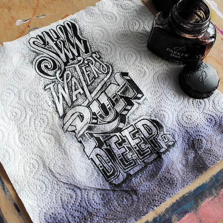 Lettering Coffee Time - The latest typography creations by Rob Draper