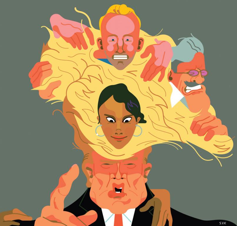 Unique Illustrations by Sam Vanallemeersch
