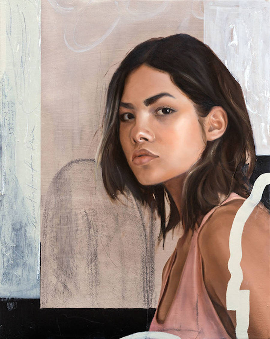 Vulnerable and Delicate Oil Paintings