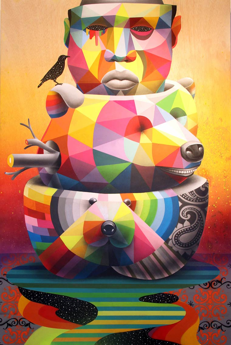 Street Art – The latest creations by Okuda