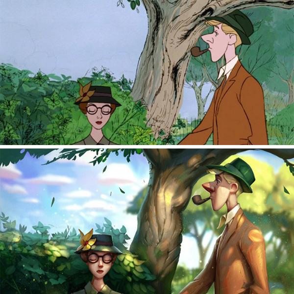 Como seriam os classicos da Disney hoje em dia? (11 pics)