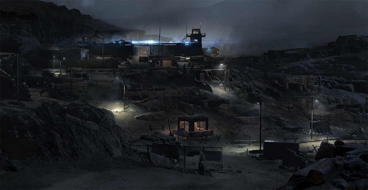 Metal Gear Online Concept Art by Jordan Lamarre-Wan