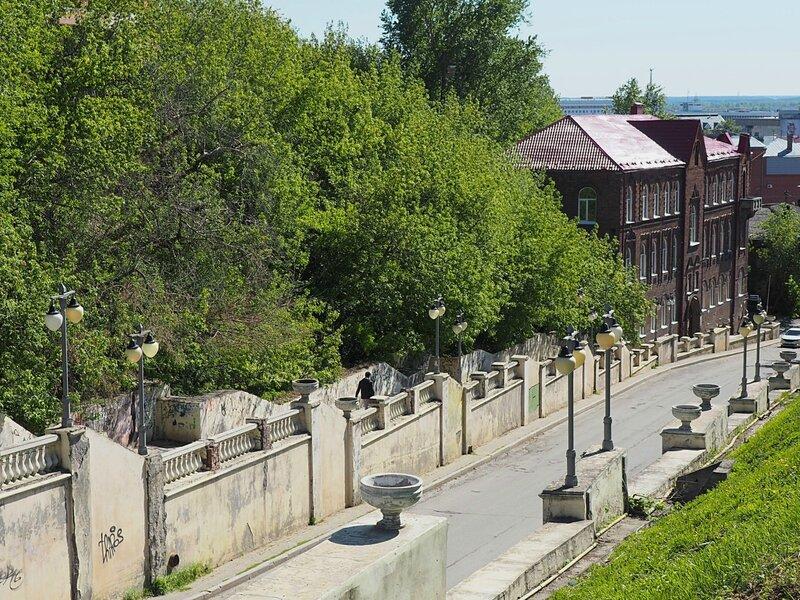 Томск, Октябрьский Взвоз (Tomsk,Oktyabr'skiy Vzvoz)