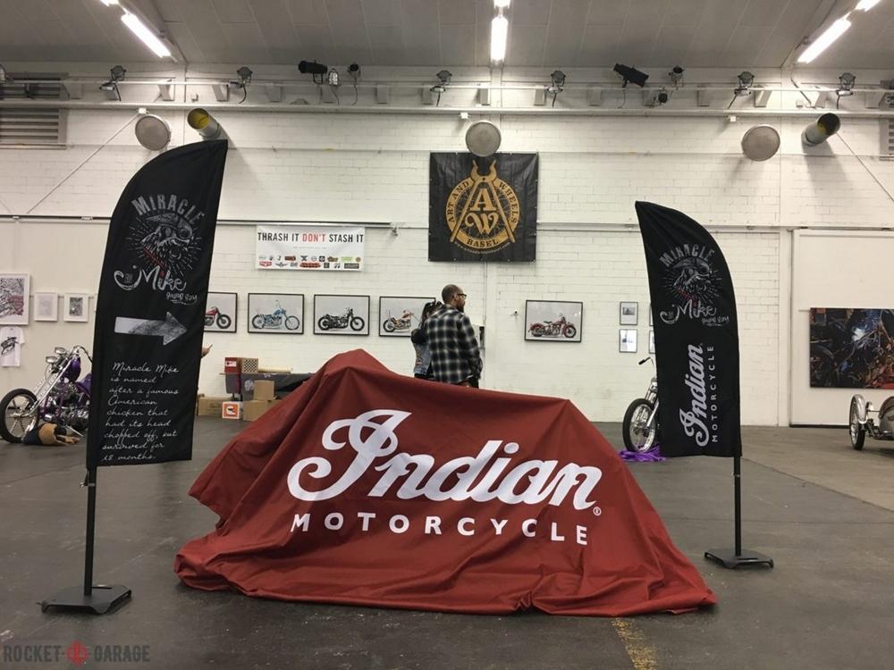 Indian Scout Sprint Racer представили на Art & Wheels 2017