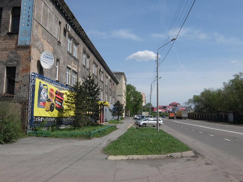 Улица Сибиряков-Гвардейцев