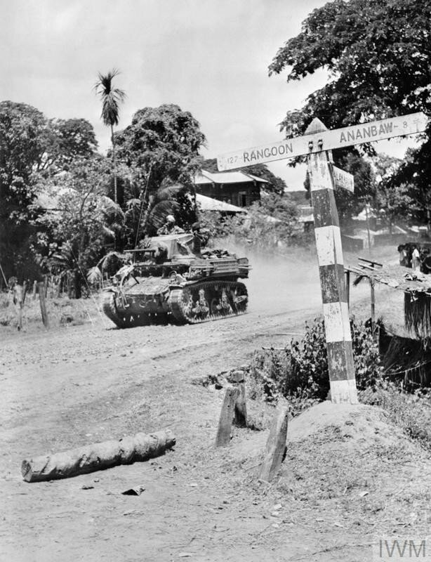 INDIAN TROOPS IN BURMA, 1945
