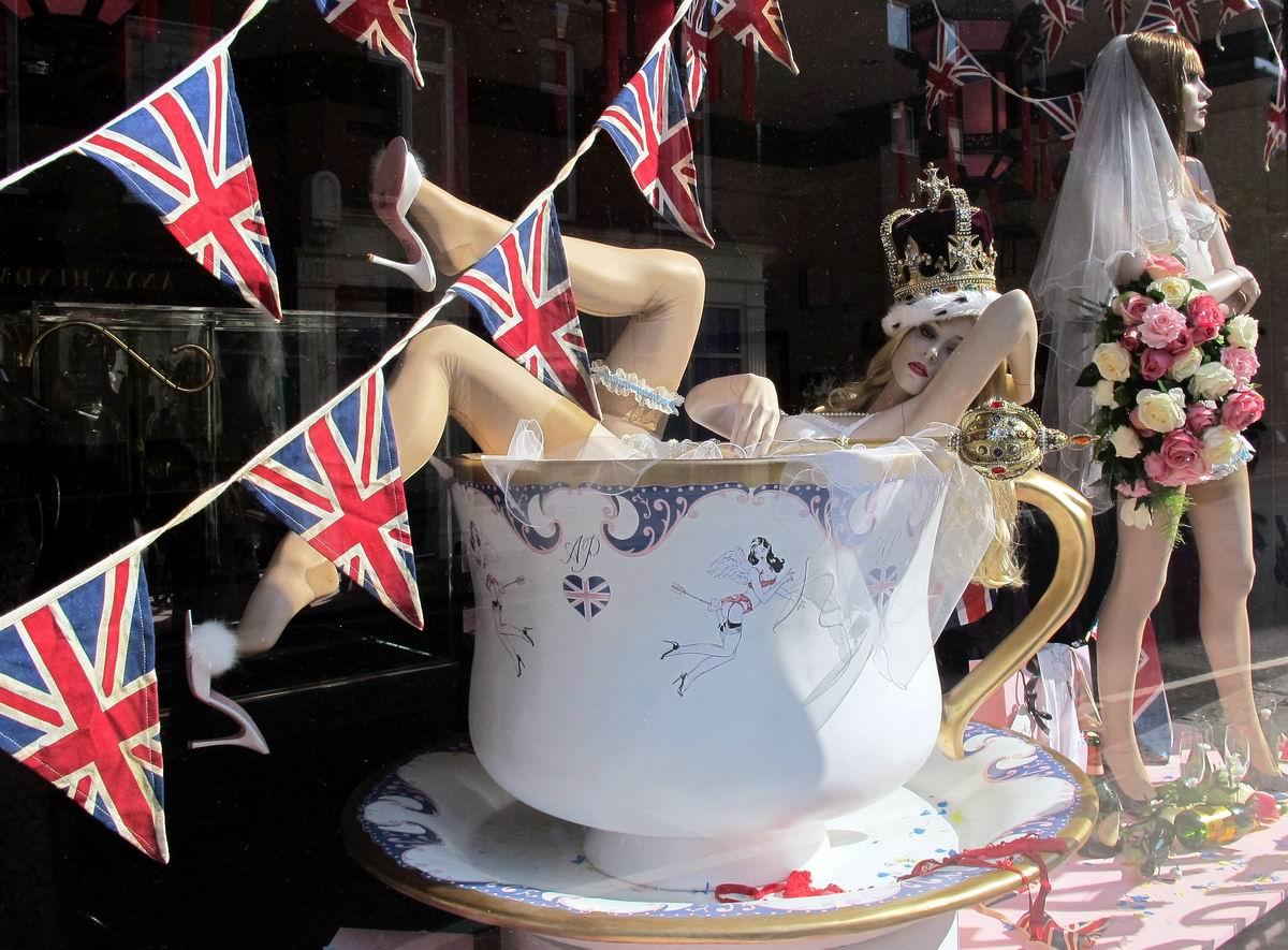 Только для прекрасных дам!: Чашечка британского кофе по-королевски